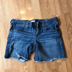 Like new J Crew Stretch Jean shorts size 28